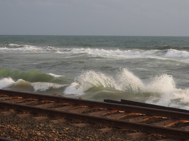 Sea side railway...