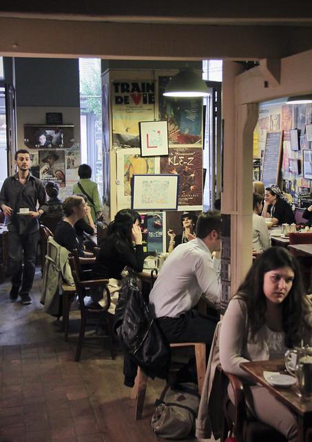 Cafe - Le Loir dans la Theiere, Marais