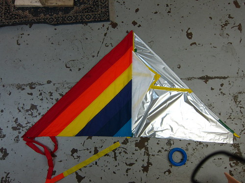 Mylar kite compared to Dazzle Delta