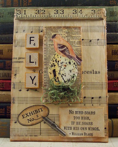 Naturalist Nook Book Collage