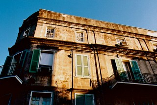 Old-skool architecture, French Quarter