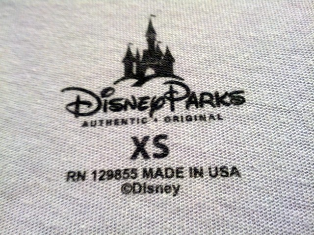 Made in USA tee, California Adventure, Disneyland, Anaheim, CA, USA