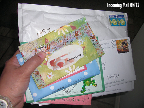 June 2012 Outgoing Letters