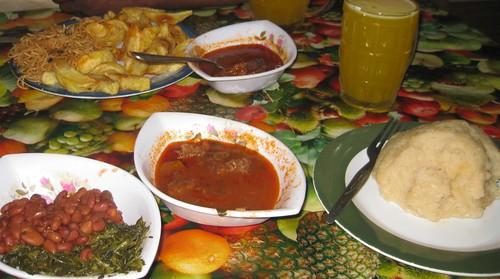 Full Rwandan Meal(s)