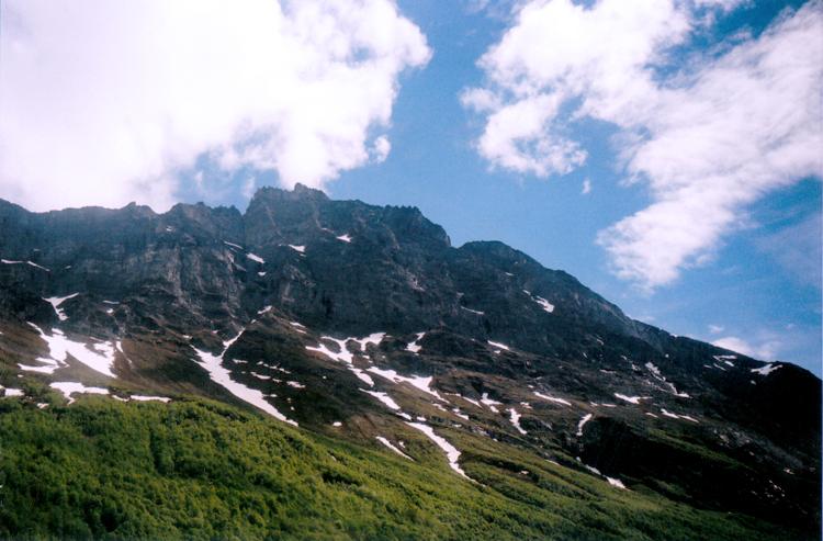 geiranger mountains