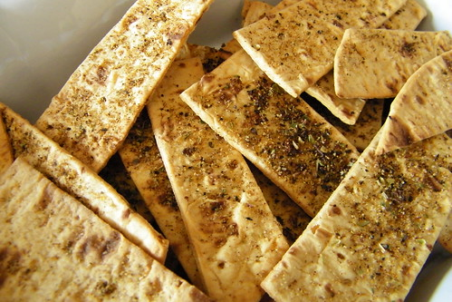 Flatout (Flatbread) Baked Dippers