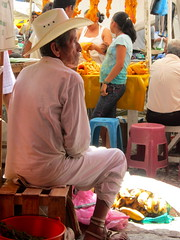 Vendor in Cuetzalan Market by LAUSatPSU