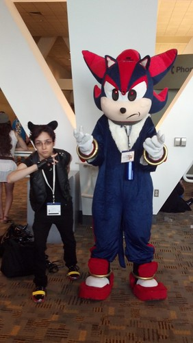 Cosplayer at Otakon 2012