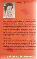 Herma Costa: Tödlicher Flieder