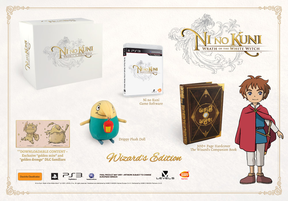 Ni No Kuni: Wrath of the White Witch - Collector's Edition