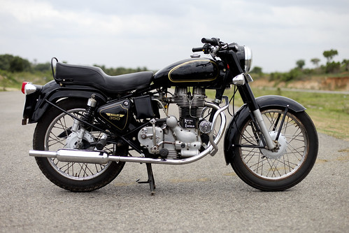 Royal Enfield right-side