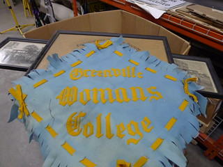 Greenville Womans College Banner