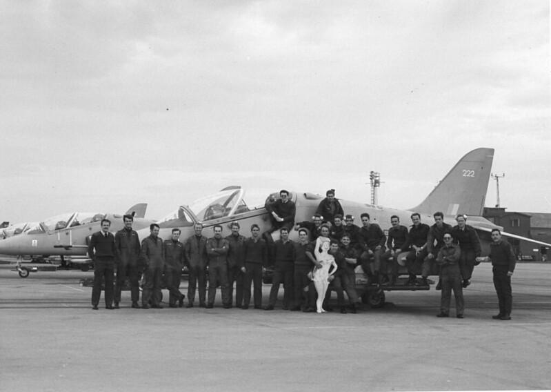 RAF Binbrook Hawk T1A