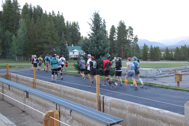 Annual Unofficial LT100 Night Run 2012