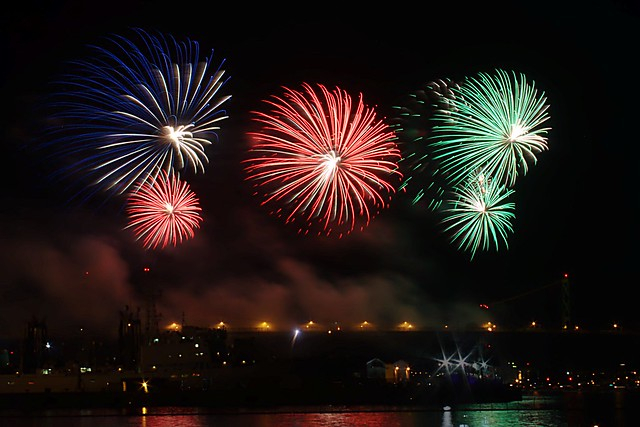 Natal Day Fireworks 2