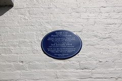 Photo of Fanny Cornforth blue plaque