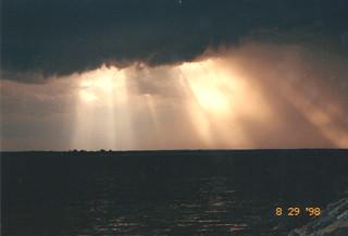 Ottawa Folk Festival Storm - August 29 1998