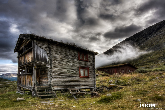 Norwegian Log Cabin In High Mountain Flickr Photo Sharing