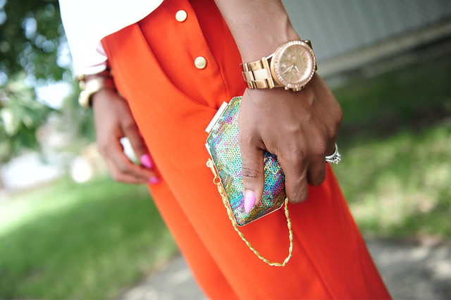 Peplum & Orange details 2 by www.jadore-fashion.com