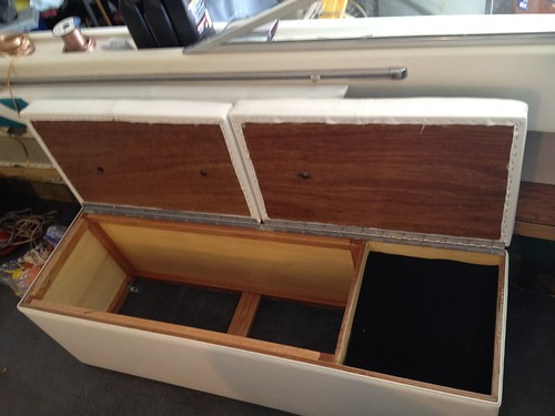 Re: 23ft Chris Craft Lancer. New floor and interior