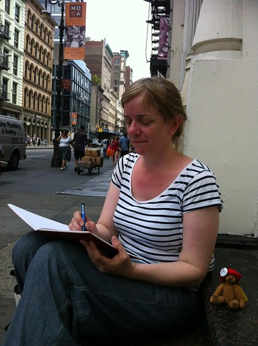 NYCD1 Third stop sketching on the streets_Nina