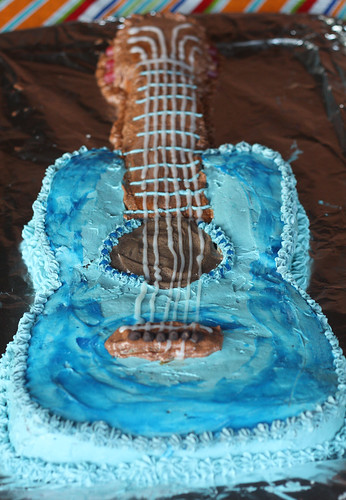 Mason Moments Guitar Cake For The Birthday Boy