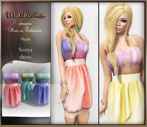 poster Sonya dress A