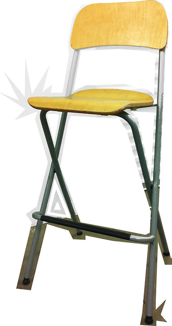 Incredible Set Of 2 Bar Stools Foldable Birch Ikea Fair Cond 15 Theyellowbook Wood Chair Design Ideas Theyellowbookinfo