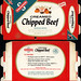Swanson - Creamed Chipped Beef - NEW! - TV Dinner - packaged food box - 1950's 1960's by JasonLiebig