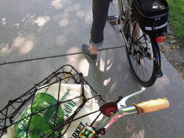Farmers Market bike ride