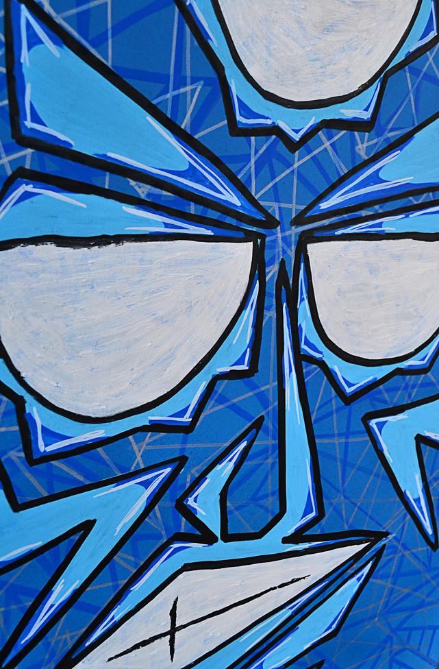 Mista Blu - Detail