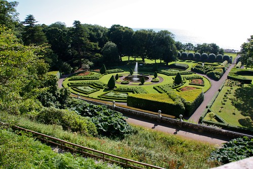 Formal Gardens at Dunrobin Castle