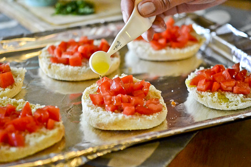 English Muffin Pizzas 9