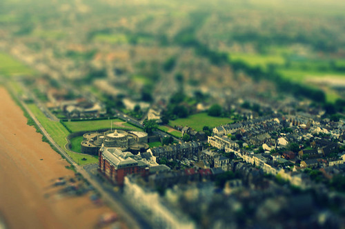 Deal Castle - tiltshift