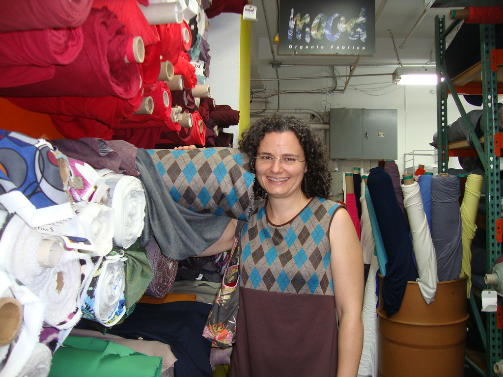 Family reunion for my fabric at Mood Fabrics | Kyle