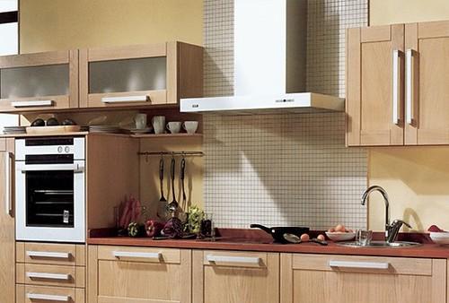 Campana extractora pieza basica en la decoracion de la cocina - Campanas para cocinas ...