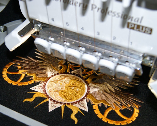 Stitching up some steampunk goodies
