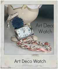 how to make an art deco watch