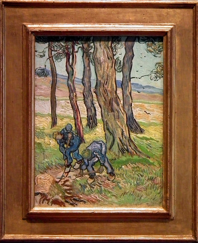 "Vincent van Gogh's ""The Diggers"" at the Detroit Institute of Arts (Detroit. 2012)"