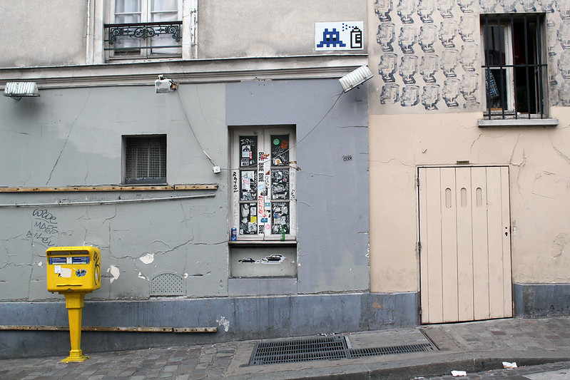 Montmartre : space invader
