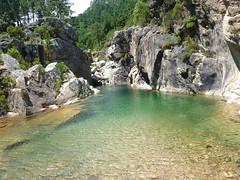 Vasque du Finicione en Haut-Cavu