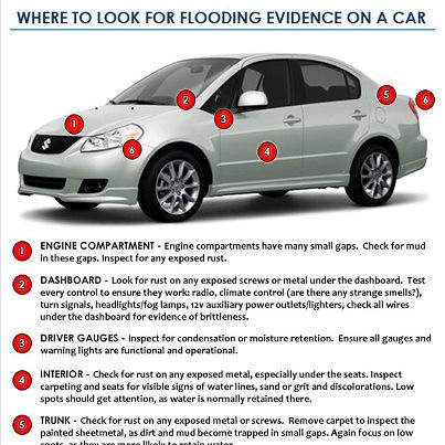 flooded car tips