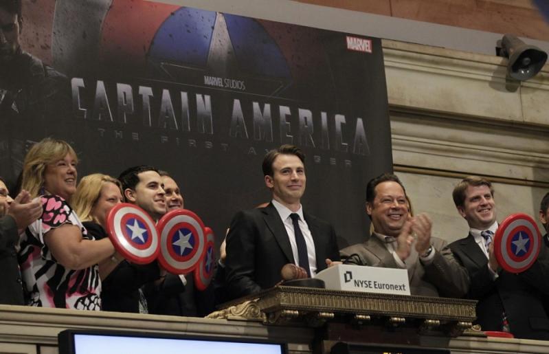 Wall Street e a Cultura Pop capitão américa