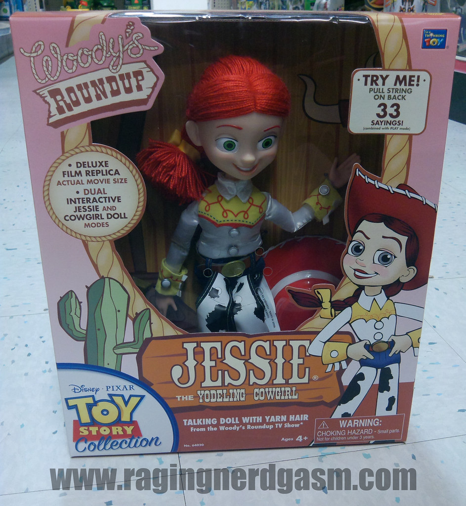 Pixar's Toy story Collection FiguresJessie Yodeling cowgirl_10