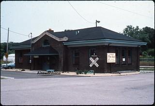 Pennsy depot 8-1-1987