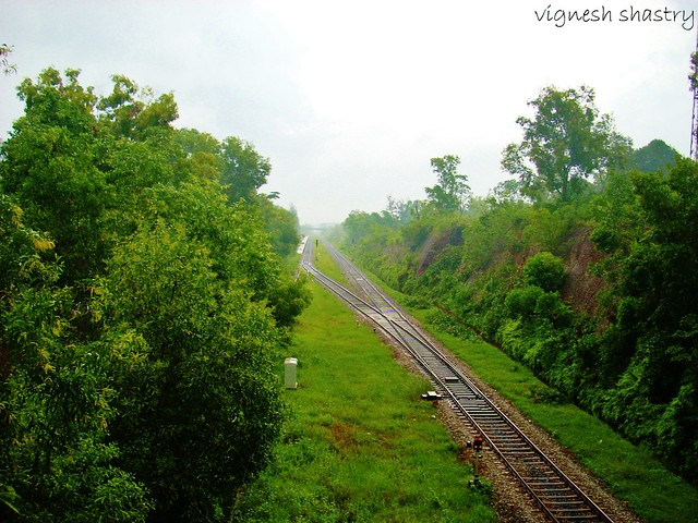 Konkan Railway Monsoon sight