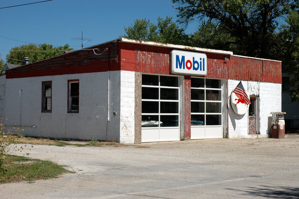 Mobil Station, Odell, IL