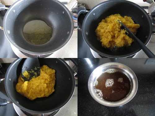 Banana Halwa-step3