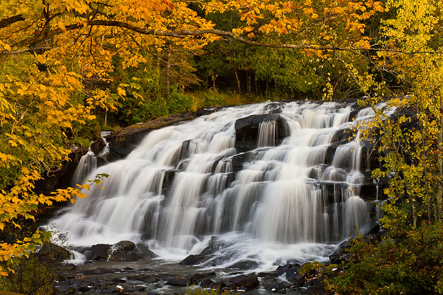 michigan upper peninsula waterfalls - photo #6