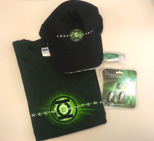 Green Lantern_Fanpaket